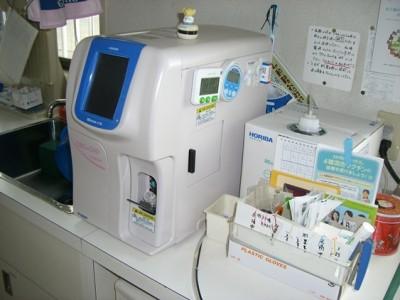 CBC+CRP検査機器
